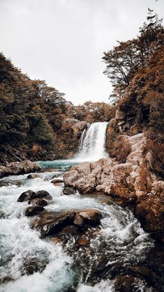 Waterfall XVII / Taupo, New Zealand Art Print by theadventureco Nature Aesthetic, Beach Aesthetic, Aesthetic Backgrounds, Aesthetic Wallpapers, Landscape Photography, Nature Photography, Waterfalls Photography, Travel Photography, Photography Photos