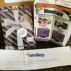 """""""Holy #greatgrape ! I received my Twitter party winnings! I love being a @mysmiley360 member! Come join me! http://h5.sml360.com/-/77ks"""""""