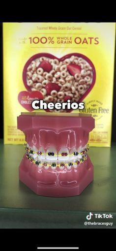 Creator: The Braces Guy Dental Braces, Teeth Braces, Cute Braces Colors, Braces Tips, Getting Braces, Perler Bead Disney, Brace Face, Skin Gel, Teeth Bleaching