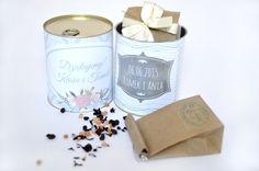 Herbaciana puszka podziękowania dla gości weselnych http://3dpoint.pl/?page_id=15188