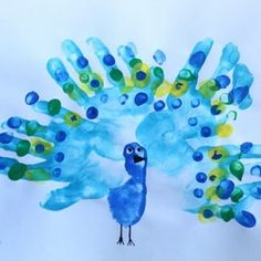 25 Precious Handprint Crafts for Toddlers - Art - These 25 Precious Handprint Crafts for Toddlers are a wonderful way to keep memories of your little - Toddler Art, Toddler Crafts, Grilled Mushrooms, Banana Milkshake, Mango Syrup, Handprint Art, High Calorie Meals, Project Yourself, Creations