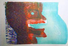 いいね!21件、コメント1件 ― ayaka takemoriさん(@gerogeroge3)のInstagramアカウント: 「2012制作 #版画 #アート#木版画 #木版 #木版プリント #paint #printmaker #printmaking #artist #art #artwork  #woodcut…」