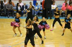 Zumba Zumba!! Dancing with The Zumba Team at Chicago Sky Basketball game 8/23/13