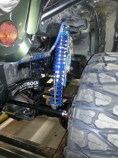 Jeep JKU Rubicon Frog 1 Build at Clayton Off Road Mfg. - Axle installed.