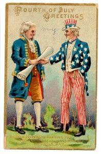 Fourth of July Postcard