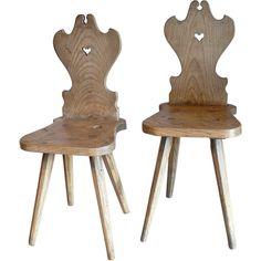 18th C. Swiss chairs