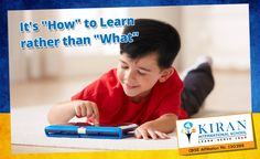 """""""A Student will have a great academic career and future when he/she is taught """"""""How"""""""" to learn rather than """"""""What"""""""" to learn. And that's exactly the Philosophy of Teaching at Kiran International! #Teachingphilosophy"""""""