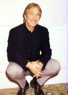 cute Alan :) - Alan Rickman Photo (15405131) - Fanpop