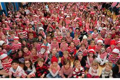 Portishead Primary School celebrate World Book Day