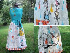WANT! (Dali inspired dress)
