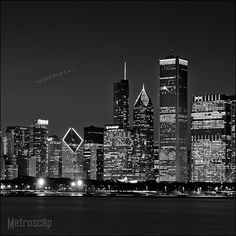 The Chicago Skyline from Adler Planetarium