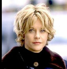Meg Ryan...my fave actress with the best hair