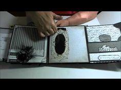 Faith Abigail Designs - Wedding Album Series: Bride and Groom Double Scrapbook Layout - YouTube