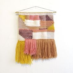 handwoven wallhanging weaving by MINNA. www.minna-shop.com
