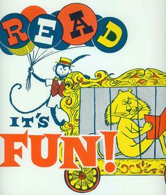 vintage circus-reading-poster