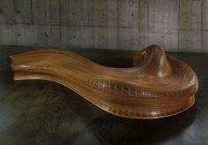 Amada Bench by Matthias Pliessnig
