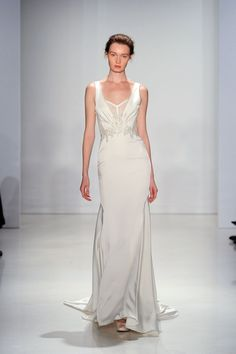 Romantic silhouettes and delicate embellishments were the focal point of this new collection.