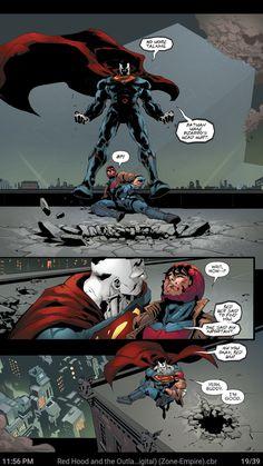 this issue broke my heart Batman Y Superman, Marvel Dc Comics, Batman Robin, Comic Movies, Comic Books, Red Hood Jason Todd, Dc Anime, Univers Dc, Dc Memes