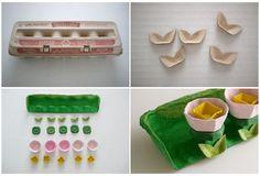 Window Garden Egg Carton Craft - Burnbrae Farms