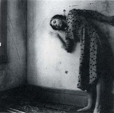 Francesca Woodman, Polka Dots # 5, 1976, Providence, Rhode Island