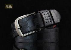 87eda588167 Plaid Men s Pin Buckle Belt High Quality Designer Casual Belt Antique Retro