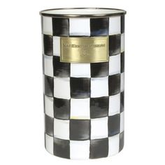 MacKenzieChilds Courtly Check Enamel Utensil Holder *** Be sure to check out this awesome product.-It is an affiliate link to Amazon. #KitchenUtensils