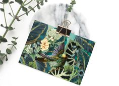 Jungle Notelet & Lined Envelopes Personal Stationery Unique Wedding Invitations, Wedding Stationery, Personalized Stationery, Envelopes, Rsvp, Reusable Tote Bags, Cards, Personalized Stationary, Maps