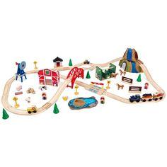 KidKraft Farm Train Set - 17827 - 17827