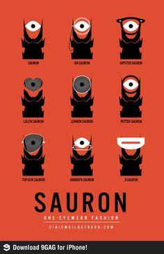 Sauron eye fashion