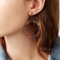Korean Big GG Perle Boucles D/'oreilles Femmes Big Tassel Dangle Boucle d/'oreille Fashion Jewelry