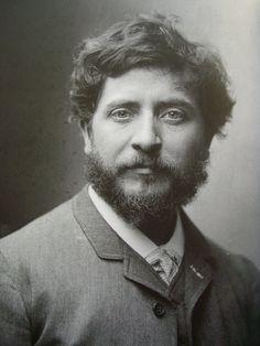 Portrait de Carriès (1855-1894), Paul Nadar