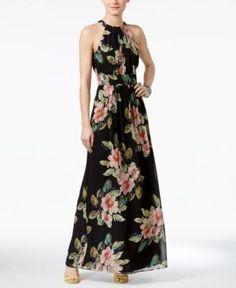 only maxi dress zwart