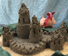 sand castle that doen't fall apart