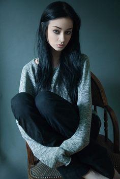Felice Fawn by Pixel-Spotlight. Dark Fashion, Gothic Fashion, Women's Fashion, Felice Fawn, Vampire Girls, Goth Beauty, Dark Beauty, Emo Scene, Foto Art