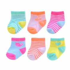 Carter's 6-pk. Striped Socks - Baby