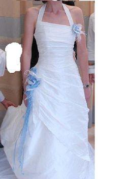 Robe de mariée de créateur fabrication française
