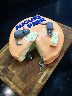 Cake cheese&mouse