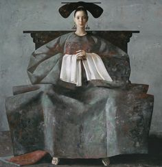 Lu Jian Jun - The large chair (2003)