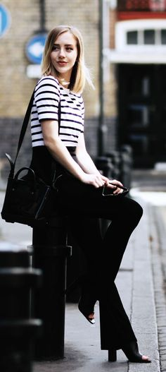 Black And White Chic Styling