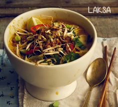 [Laska Vegetarian] +Click For Recipe  #easy #recipes #asian #malaysian