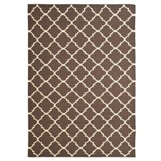 Bursa Rug 8x10 Brown/Ivory now featured on Fab.
