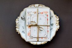 DIY Tutorial: Watercolor Floral Pattern Wedding Invitations