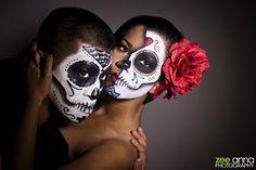 Dias de Los Muertos | Day of the Dead Couple Concept Shoot