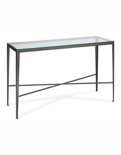 Coffee & Side Tables | Nova Rectangular Console Table |  SELECT COLOUR:  Antique Brass