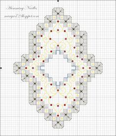 Humming Needles: Hardanger Ornament Pattern no.4