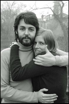 Linda Eastman & Paul McCartney