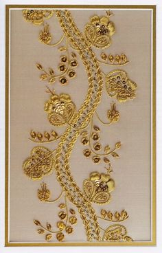 Customer Image Gallery for Goldwork Embroidery: Designs and Projects (Milner Craft Series)