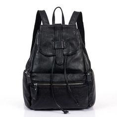 NEW Brand Fashion Design Genuine Leather Quality Backpack 2 Colors
