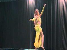 Dança  do  ventre com  Ingryd Carolina Macedo Wong-Mostra de  Dança -2011