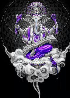 paintings: Top 20 Lord Ganesha Images To Dawnload For Free Arte Ganesha, Ganesha Tattoo, Sri Ganesh, Ganesh Lord, Lord Shiva, Shri Ganesh Images, Ganesha Pictures, Yoga Studio Design, Yoga Inspiration